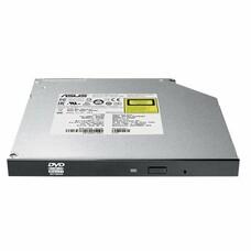 Оптический привод DVD-RW ASUS SDRW-08U1MT/BLK/B/GEN, внутренний, SATA, черный, OEM