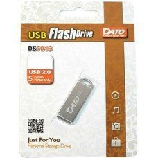 Флеш Диск Dato 8Gb DS7016 DS7016-08G USB2.0 серебристый