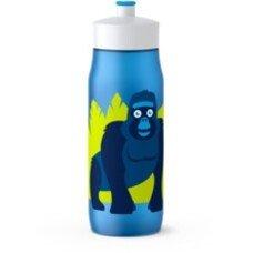Фляга TEFAL K3201312, 0.6л, рисунок/ синий