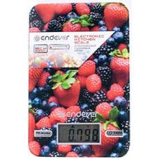 Весы кухонные ENDEVER Skyline KS-528, рисунок/ягоды
