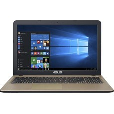 "Ноутбук ASUS VivoBook X540YA-DM801D, 15.6"", AMD E2 6110 1.5ГГц, 4Гб, 1000Гб, AMD Radeon R2, Free DOS, 90NB0CN1-M12550, черный"