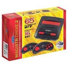 Игровая консоль Sega Magistr Drive 2 черный в компл.: 65 игр