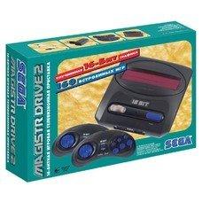 Игровая консоль Sega Magistr Drive 2 черный в компл.: 160 игр