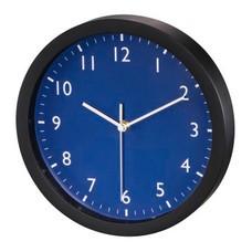 Часы настенные аналоговые Hama Pure синий