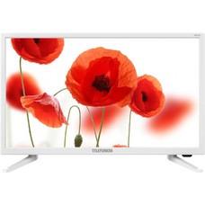 "Телевизор LED Telefunken 23.6"" TF-LED24S52T2 белый/HD READY/50Hz/DVB-T/DVB-T2/DVB-C/USB (RUS)"