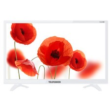 "Телевизор LED Telefunken 21.5"" TF-LED22S63T2 белый/FULL HD/50Hz/DVB-T/DVB-T2/DVB-C/USB (RUS)"