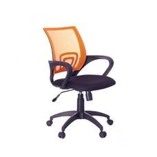 Кресло Бюрократ CH-695K/OR/TW-11 спинка сетка оранжевый TW-38-3 сиденье черный TW-11