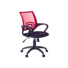 Кресло Бюрократ CH-695K/R/TW-11 спинка сетка красный TW-35N сиденье черный TW-11