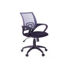 Кресло Бюрократ CH-695K/DG/TW-11 спинка сетка серый TW-04 сиденье черный TW-11