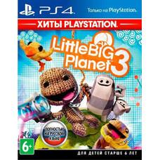 Игра для PS4 PlayStation LittleBigPlanet 3 (6+) (RUS)