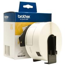 Наклейки адресные Brother DK11208 38x90mm 400psc in roll