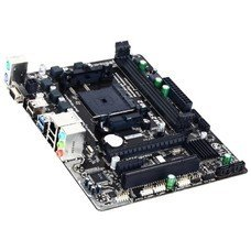 Материнская плата GIGABYTE GA-F2A68HM-S1, Socket FM2+, AMD A68H, mATX, Ret