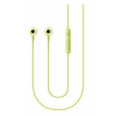 Наушники SAMSUNG EO-HS130, вкладыши, зеленый, проводные [EO-HS1303GEGRU]