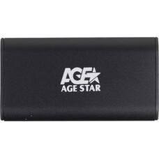 Внешний корпус для SSD AGESTAR 3UBMS1, черный