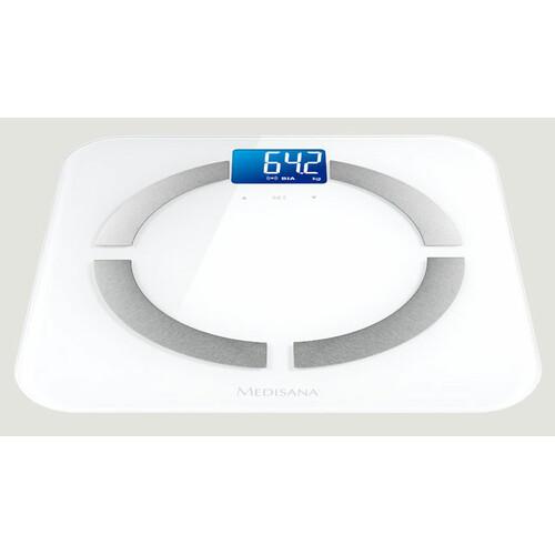 Напольные весы MEDISANA BS 430 Connect, до 180кг, цвет: белый [40422]