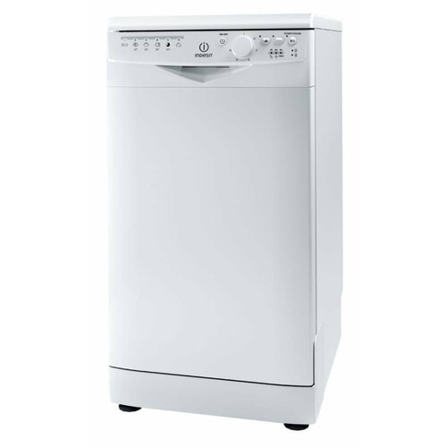 Посудомоечная машина INDESIT DSR 26B RU, узкая, белая