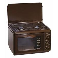 Газовая плита GEFEST ПГЭ 120 К19, электрическая духовка, коричневый