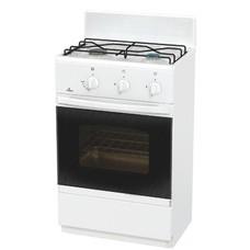 Газовая плита FLAMA CG 3202 W, газовая духовка, белый [cg 3202 w/b]
