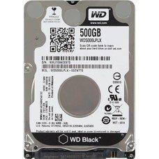 "Жесткий диск WD Black WD5000LPLX, 500Гб, HDD, SATA III, 2.5"""