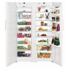 Холодильник LIEBHERR SBS 7212, двухкамерный, белый [sbs 7212 (sgn 3063 + sk 4240)]