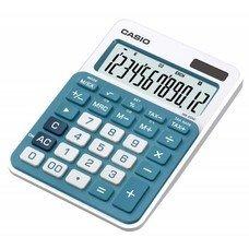 Калькулятор CASIO MS-20NC-BU-S-EC, 12-разрядный, голубой