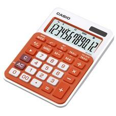 Калькулятор CASIO MS-20NC-RG-S-EC, 12-разрядный, оранжевый