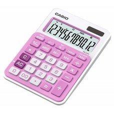 Калькулятор CASIO MS-20NC-PK-S-EC, 12-разрядный, розовый