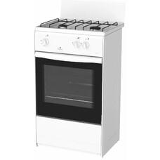 Газовая плита DARINA 1AS GM 521 001 W, газовая духовка, белый [670]