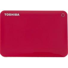Жесткий диск Toshiba USB 3.0 500Gb HDTC805ER3AA Canvio Connect II 2.5&quot красный
