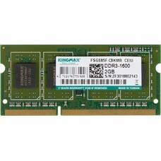 Модуль памяти KINGMAX DDR3 - 2Гб 1600, SO-DIMM, Ret [2048/1600]