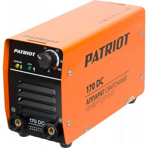 Сварочный аппарат инвертор PATRIOT 170DC MMA [605302516]