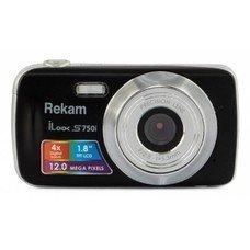 Цифровой фотоаппарат REKAM iLook S750i, черный [1108005091]