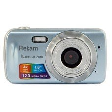Цифровой фотоаппарат REKAM iLook S750i, серый [1108005092]