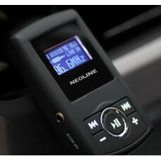 Автомобильный FM-модулятор Neoline Splash FM черный SD USB PDU