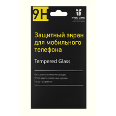 Защитное стекло для экрана REDLINE для Apple iPhone 5/5s/5c, 1 шт [ут000004780]
