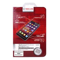 """Защитное стекло для экрана REDLINE для смартфонов 5"""", 1 шт [ут000006690]"""