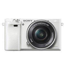 Фотоаппарат SONY Alpha A6000LW kit ( E PZ 16-50мм f/3.5-5.6 OSS), белый [ilce6000lw.cec]