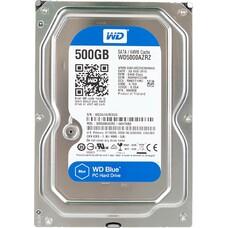 "Жесткий диск WD Blue WD5000AZRZ, 500Гб, HDD, SATA III, 3.5"""