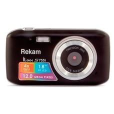 Цифровой фотоаппарат REKAM iLook S755i, черный [1108005121]