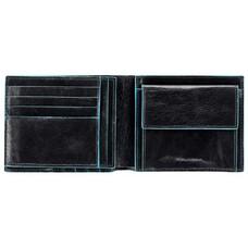 Кошелек мужской Piquadro Blue Square PU1240B2/N черный натур.кожа