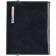 Чехол для кредитных карт Piquadro Blue Square PP1395B2/BLU2 темно-синий натур.кожа