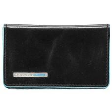Чехол для визитных карт Piquadro Blue Square PP1263B2/N черный натур.кожа