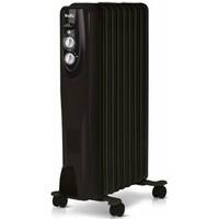 Масляный радиатор BALLU Classic BOH/CL-09BRN, 2000Вт, черный [нс-1050889]