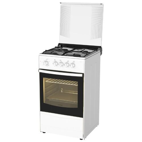 Газовая плита DARINA 1B1 GM 441 018 W, газовая духовка, белый