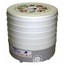 Сушилка для овощей и фруктов РОТОР СШ-002-06, белый, 5 поддонов