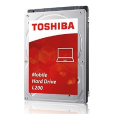 "Жесткий диск TOSHIBA L200 HDWJ110UZSVA, 1Тб, HDD, SATA II, 2.5"""