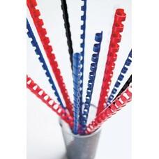 Пружина пластиковая FELLOWES CRC-53450, 6мм, 2 - 20 листов, A4, 100, белый
