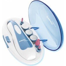 Маникюрный набор Scarlett SC-MS95007 насадок в компл.:6шт (подсветка) синий/белый