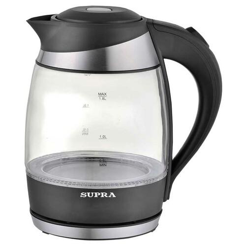 Чайник электрический SUPRA KES-2009, 2200Вт, черный