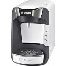 Капсульная кофеварка BOSCH TAS3204, 1300Вт, цвет: белый